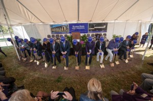 Breaking ground for new College of Business Administration building