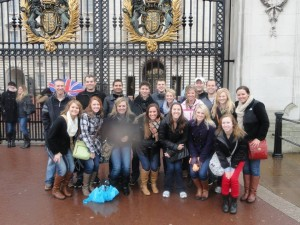 Janda's Study Abroad group Spring 2013