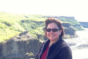 photo of Valerie Padilla Carroll in Iceland