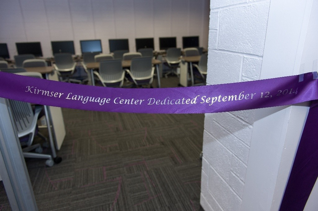 Dedication ceremony with a glimpse at the new center
