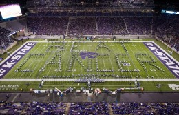 marching band beat cancer formation