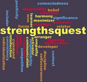 StrengthsQuest Cloud