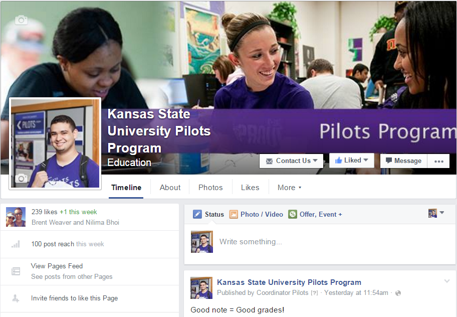 Pilots Facebook