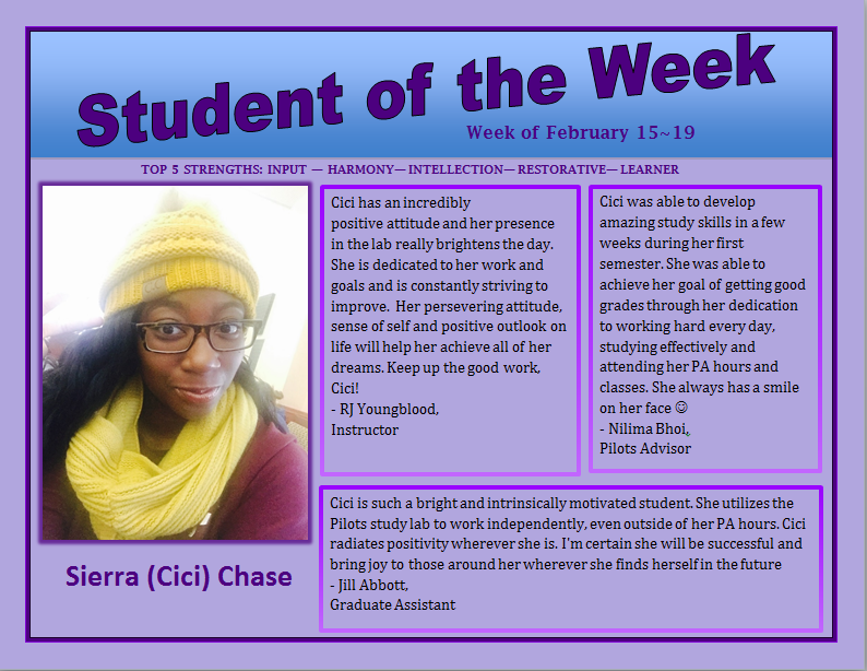 SOTW Cici Chase