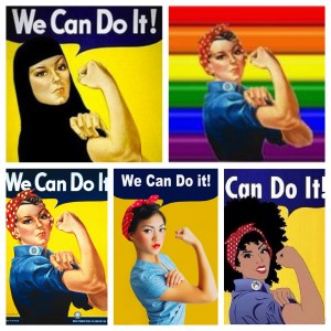 Women's History Month picstitch
