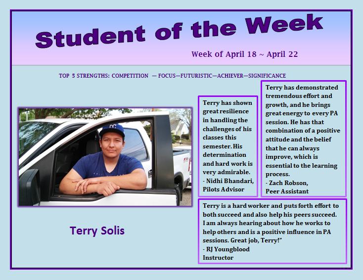 SOTW Terry Solis