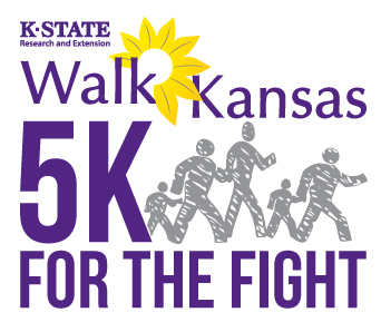 Walk Kansas 5K for the Fight Logo