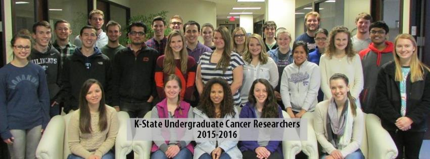 Photo of Undergrad Cancer Research Awardees