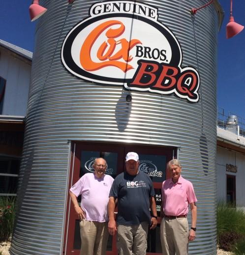 Dr. Gene Klingler, Bud Cox & Dr. Rob Denell