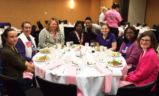 Pink Power Luncheon Guests