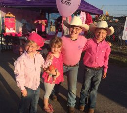 Kids at Tough Enough to Wear Pink Rodeo 2017