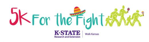 Walk Kansas 5K for the Fight 2018 logo