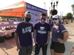 Cancer Fighters members at Bill Snyder Hwy Half-Marathon & 5K