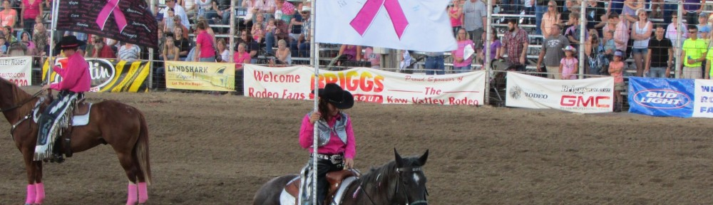 Drill Team at Pink Rodeo