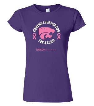 Ladies' Fighting for a Cure t-shirt