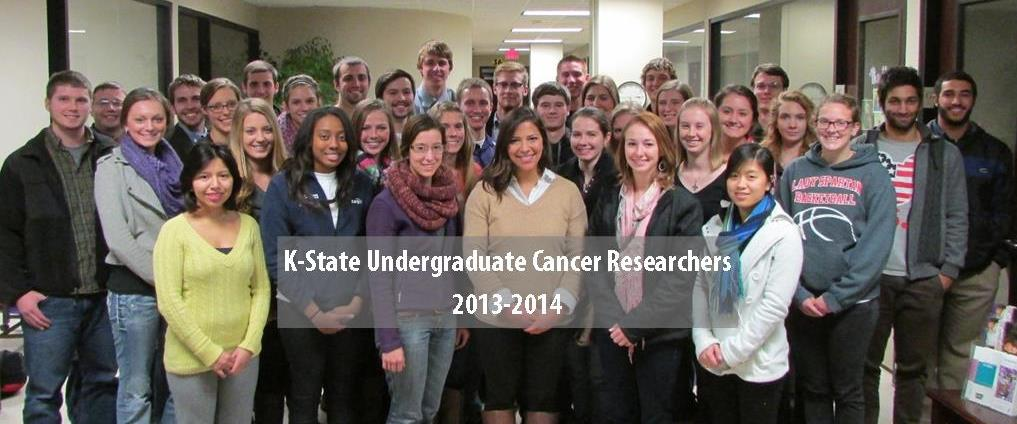 K-State Undergraduate Cancer Researchers