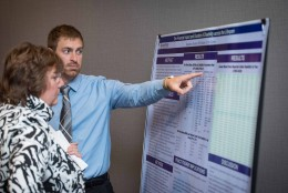 Ben Strother PhD poster forum