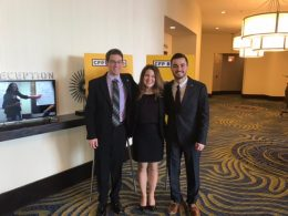Nolan, Lindsey, and Stephen presenting at CFP Board Program Directors Conference