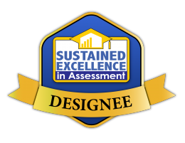 Sustained Excellence in Assessment Designation