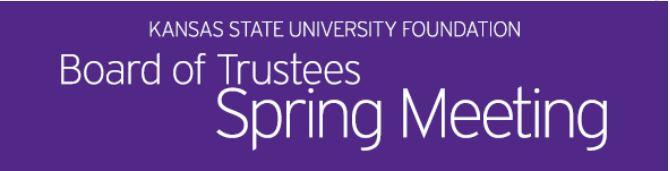 trustee meting banner