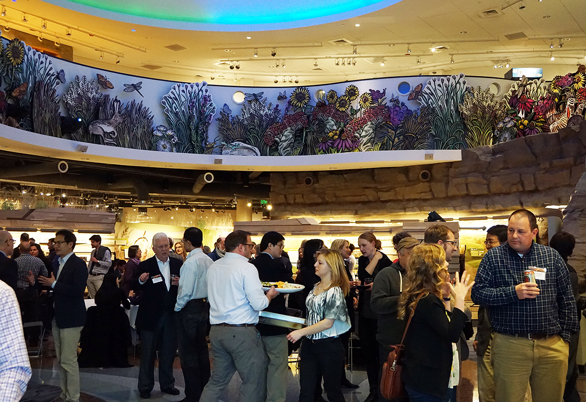 CELA 2015 concluded with a reception at the Flint Hills Discovery Center in downtown Manhattan. Thank you all who attended the CELA 2015 conference in Manhattan!