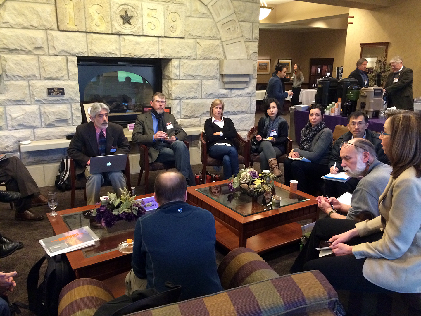 Landscape architecture program department heads from across the country met in the K-State Alumni Center.
