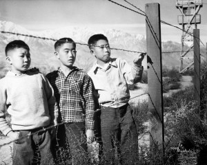 Toyo Miyatake, Boys Behind Barbed-wire