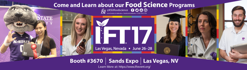 The Food Science Institute will be at IFT 2017 – Food