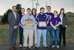 K-State Team for the DOE Collegiate Wind Competition