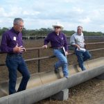 Three watershed specialists speak at the feedlot field day