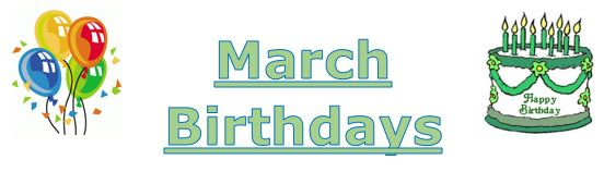 march bday