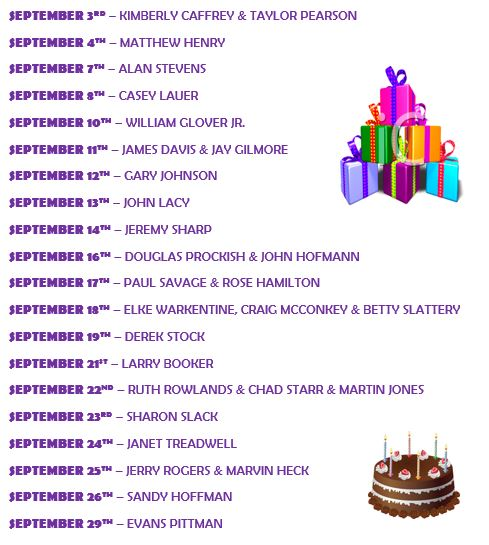 september-bdays