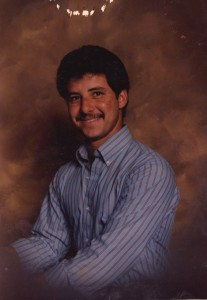 Pedro at age 17.  His first picture in AZ
