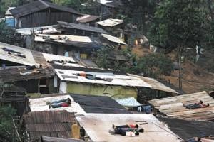 Children Avoiding Recruitments on Rooftop of Houses