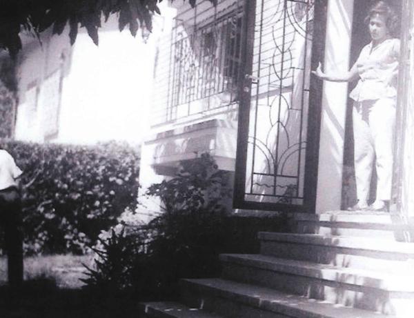 The Salazar house in Venezuela - pictured is Mr. Salazar's Paternal Aunt
