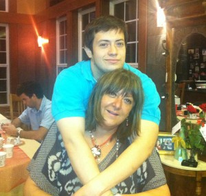 Alejandra and her son Max