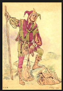 20th Century Depiction of a Jester