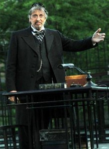 Al Pacino in The Merchant of Venice, performed at Shakespeare in the Park