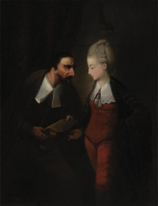"Portia and Shylock, from Shakespeare's ""The Merchant of Venice."" Edward Alcock. ca. 1778. ARTstor [online]. Yale Center for British Art. [cited 14 July 2015]. http://library.artstor.org/library/secure/ViewImages?id=8CladTYuJCxdLS04eTh8QHsoWg%3D%3D&userId=hzZCcjIm&zoomparams="