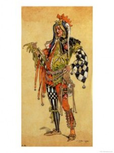 Costume Design for As You Like It by C. Wilhelm