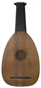 Trust me I'm no lyre, this is an Elizabethan lyre, one of the most popular instruments of the day