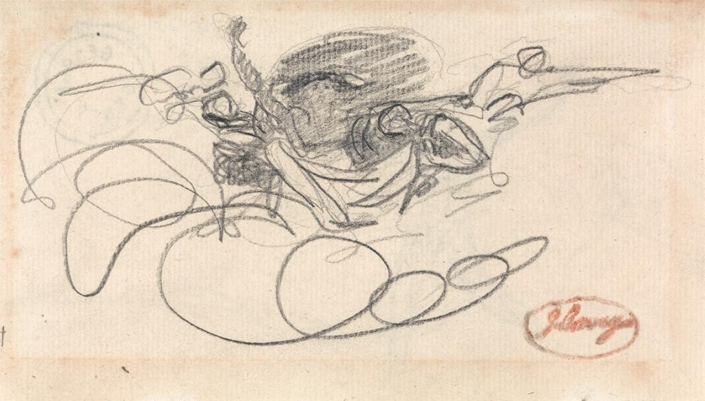 spirits graphite sketch