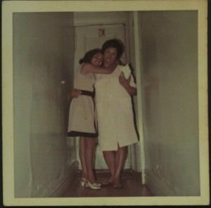 Rita with Mother in 81st Street House