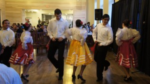 Eduardo dancing with Ballet Folklorico de Dartmouth
