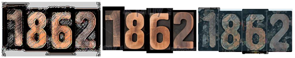 1862 graphic designed by Harriette Yahr