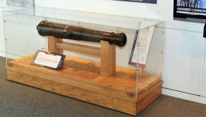 The Amherst Cannon on display at the North Carolina Museum of History, 2012