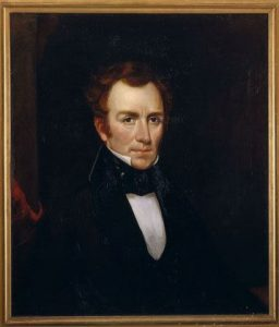 Edward Dickinson, 1840. Portrait by O.A. Bullard. Houghton Library, Harvard University