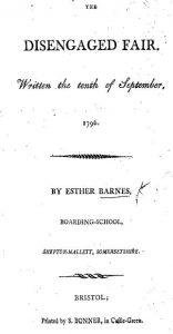 E. Barnes title page