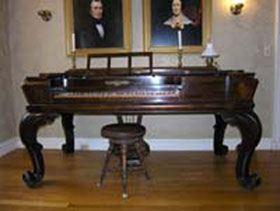 Dickinson's piano, Emily Dickinson Museum