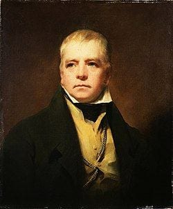 Raeburn's portrait of Sir Walter Scott in 1822